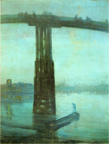Nocturne: Blue and Gold ­ Old Battersea Bridge by James Abbott McNeill Whistler
