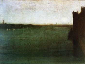 Nocturne: Grey and Gold by James Abbott McNeill Whistler