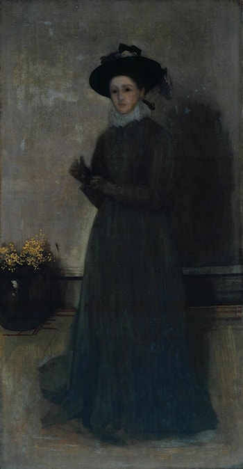 Miss Agnes Mary Alexander by James Abbott McNeill Whistler