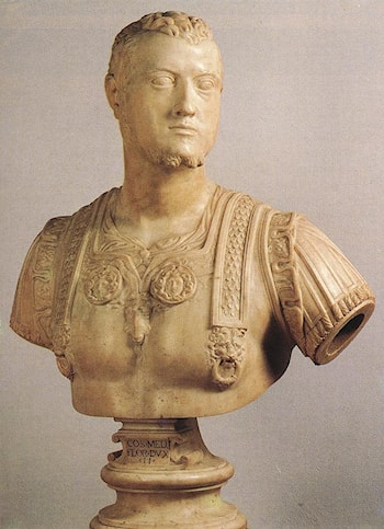Bust of Cosimo I by Baccio Bandinelli