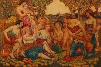 The Apple Harvest by Noel Laura Nisbet