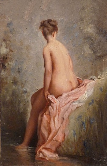 Bather by Charles Chaplin