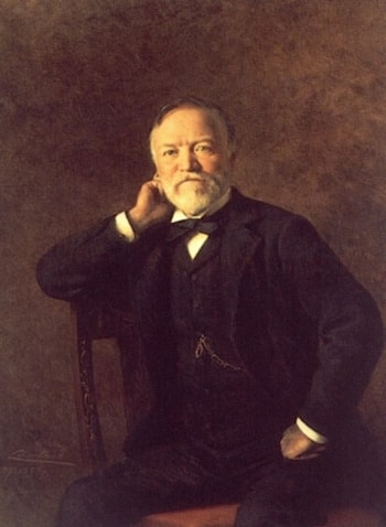 Portrait of Andrew Carnegie by Theobald Chartran