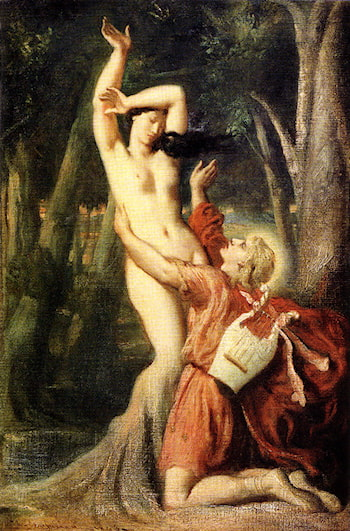 Apollo and Daphne by Theodore Chasseriau