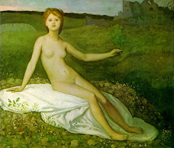 Hope by Pierre Cecile Puvis de Chavannes