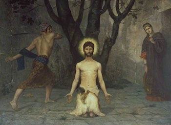 The Beheading of Saint John the Baptist by Pierre Cecile Puvis de Chavannes