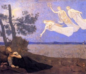 The Dream by Pierre Cecile Puvis de Chavannes