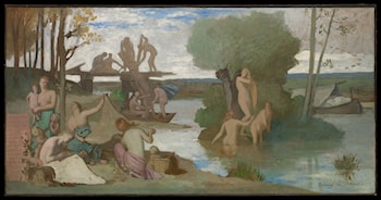 The River by Pierre Cecile Puvis de Chavannes