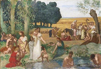 Summer by Pierre Cecile Puvis de Chavannes