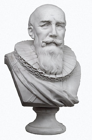 Bust of Duke de Sully by Marie-Anne Collot