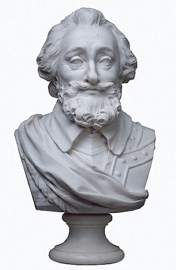 Bust of Henri IV by Marie-Anne Collot