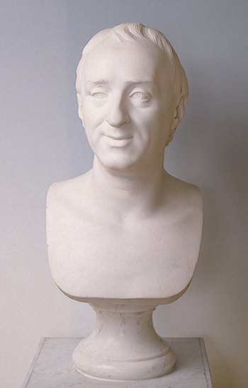 Denis Diderot by Marie-Anne Collot