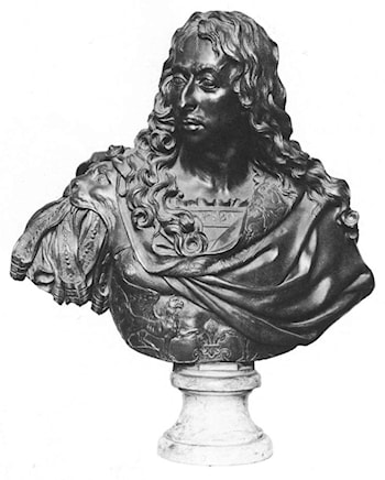 Bust of the Grand Condé by Antoine Coysevox
