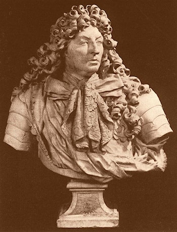 King Louis XIV by Antoine Coysevox