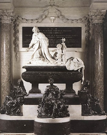 Funeral Monument of Mazarin by Antoine Coysevox