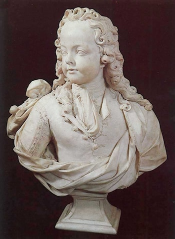Bust of Louis XV as a Child of Six by Antoine Coysevox