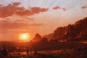 Grand Manan Island by Frederic Edwin Church