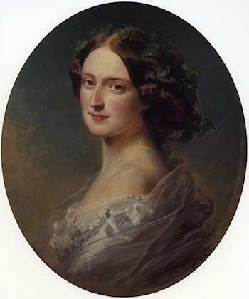 Lady Clementina Augusta Wellington Child Villiers by Franz Xavier Winterhalter