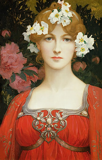 The Circlet of White Flowers by Elisabeth Sonrel