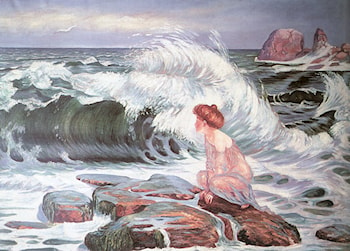 The Wave by Frantisek Kupka