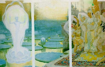 The Lotus Soul by Frantisek Kupka