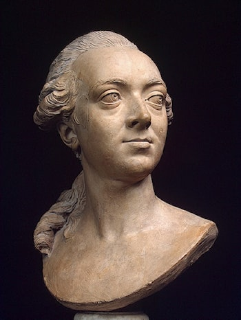 Portrait Bust of the Architect Pierre Rousseau by Philippe-Laurent Roland