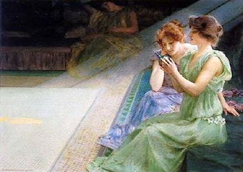 Iridescence by Henry Siddons Mowbray