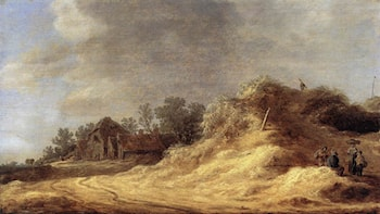 Dunes by Jan van Goyen