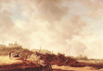 Landscape with Dunes by Jan van Goyen