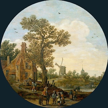 Summer by Jan van Goyen