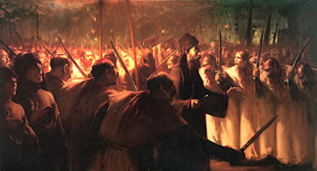 The 10th of Muharram by Fausto Zonaro