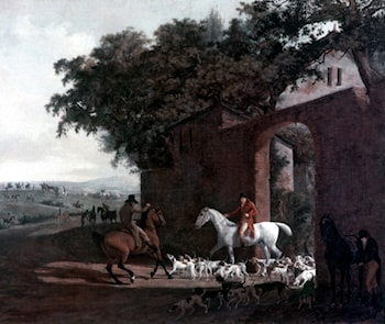 Departure to the Hunt by Jacques-Laurent Agasse