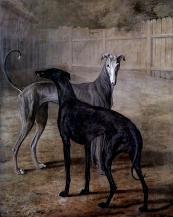 Rolla and Portia by Jacques-Laurent Agasse
