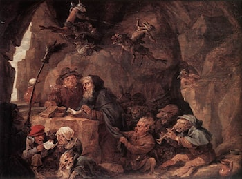 Temptation of St Anthony by David the Younger Teniers