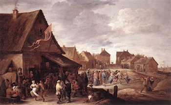 Village Feast by David the Younger Teniers