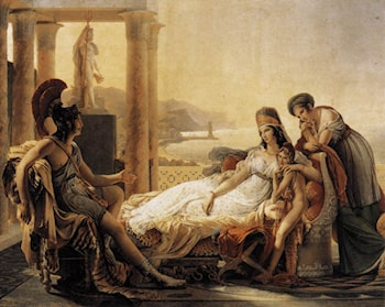 Dido and Aeneas by Pierre-Narcisse Guerin