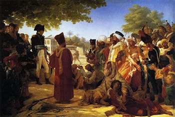 Napoleon Pardoning the Rebels at Cairo by Pierre-Narcisse Guerin