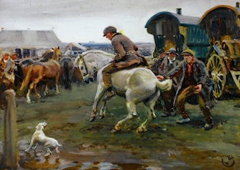 An Ancient Rebel by Sir Alfred James Munnings