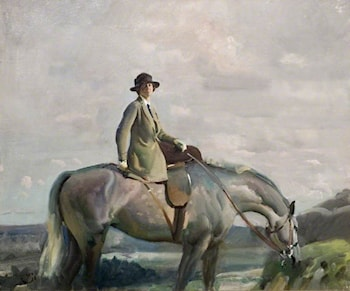 In Cornwall by Sir Alfred James Munnings