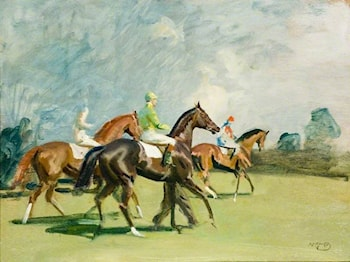 Before the Race by Sir Alfred James Munnings