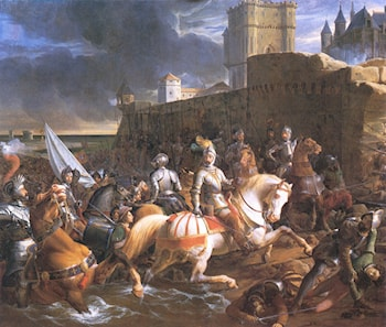 The Siege of Calais by Francois-Edouard Picot