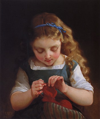 A Careful Stitch by Emile Munier