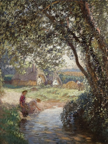 A Little Pool by Sir George Clausen