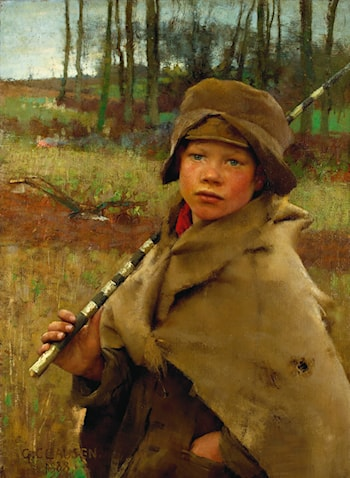 A Ploughboy by Sir George Clausen