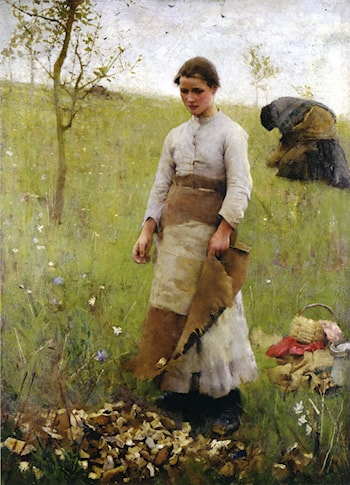 The Stone Pickers by Sir George Clausen