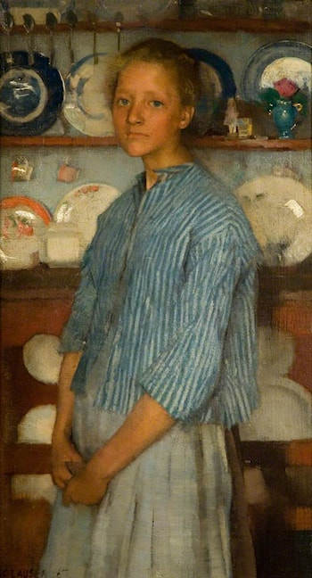 Normandy Peasant by Sir George Clausen