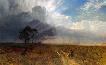 The Coming Storm by George Vicat Cole