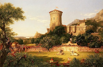 The Past by Thomas Cole