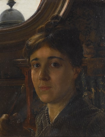 Self Portrait by Anna Alma-Tadema
