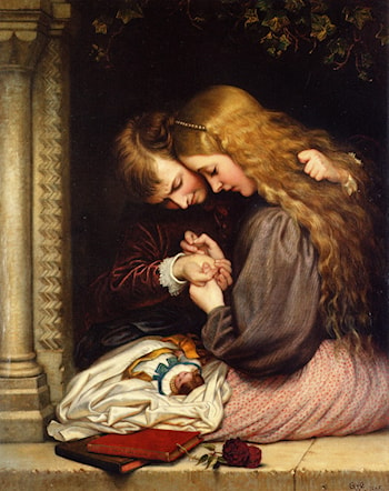 The Thorn by Charles West Cope